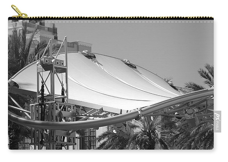 Black And White Carry-all Pouch featuring the photograph The Stage by Rob Hans
