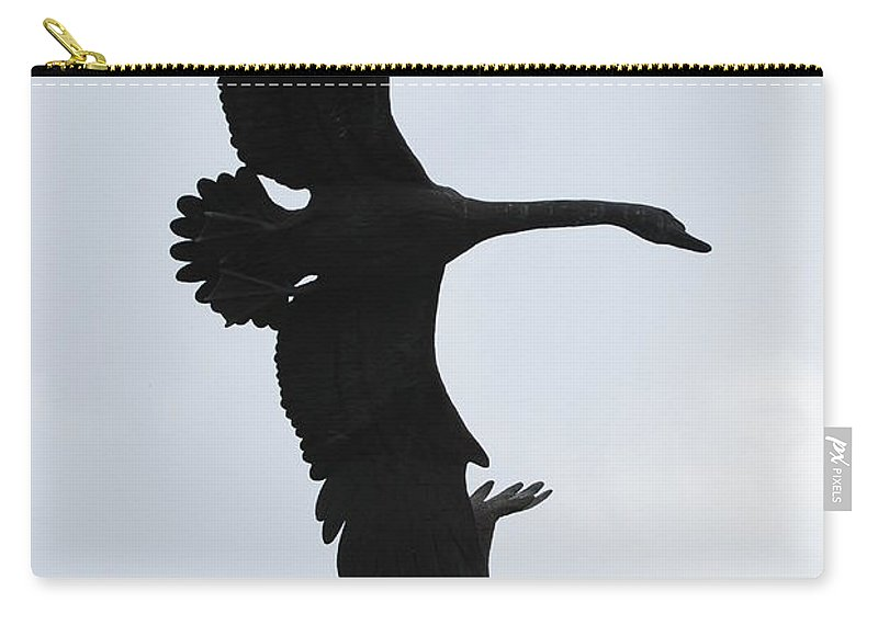 Sky Carry-all Pouch featuring the photograph The Stone Birds by Rob Hans