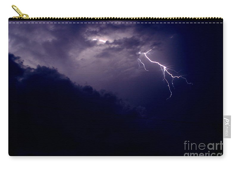Sky Carry-all Pouch featuring the photograph The Storm 1.3 by Joseph A Langley