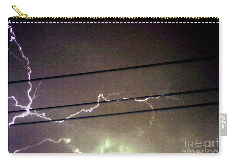 Sky Carry-all Pouch featuring the photograph The Storm 1.4 by Joseph A Langley