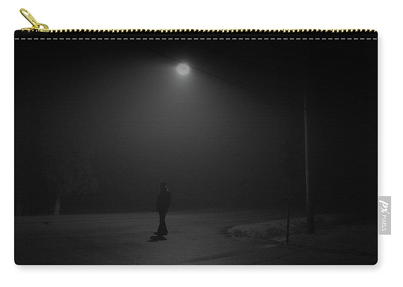 Stranger Carry-all Pouch featuring the photograph The Stranger by Timothy Ruf