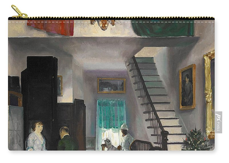 George Bellows Carry-all Pouch featuring the painting The Studio by George Bellows