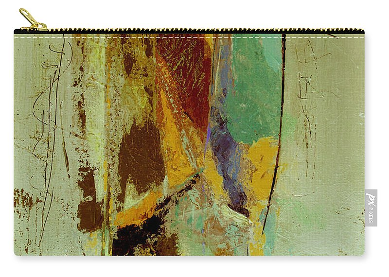 Abstract Carry-all Pouch featuring the painting The Testimony by Ruth Palmer