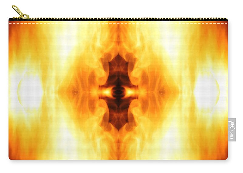 Third Eye Carry-all Pouch featuring the photograph The Third Eye by Munir Alawi