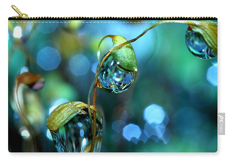 Moss Carry-all Pouch featuring the photograph The Threesome by Sharon Johnstone