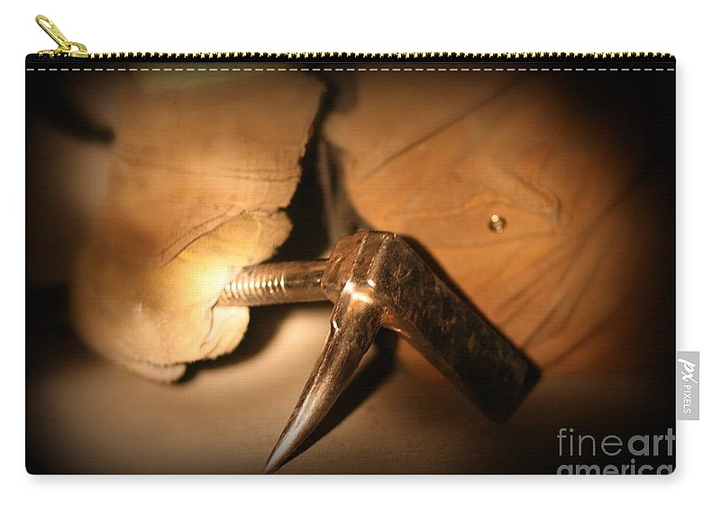 Tool Carry-all Pouch featuring the photograph The Tool by Rick Monyahan