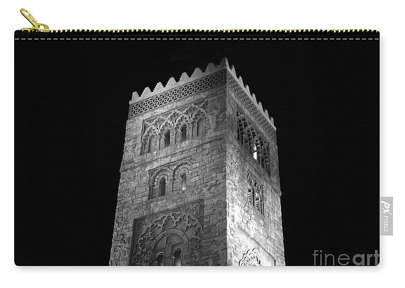 Tower Carry-all Pouch featuring the photograph The Tower by David Lee Thompson