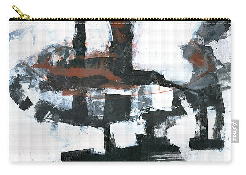 Tower Carry-all Pouch featuring the painting The Tower by Patricia Ariel