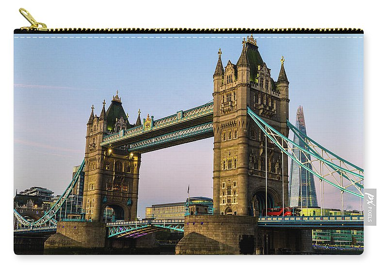 Bridge Carry-all Pouch featuring the photograph The Tower by Robert Stasio