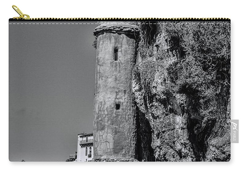 Tower Carry-all Pouch featuring the photograph The Tower by Tommy Anderson