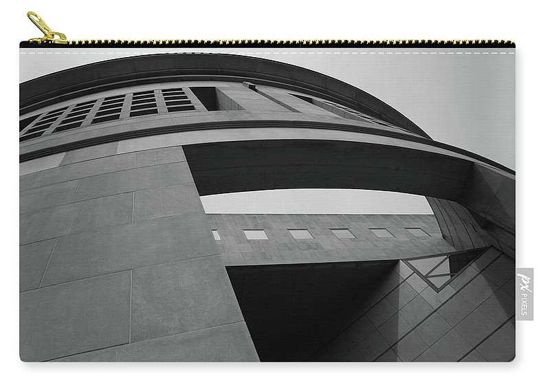 Holocaust Carry-all Pouch featuring the photograph The United States Holocaust Memorial Museum by Cora Wandel
