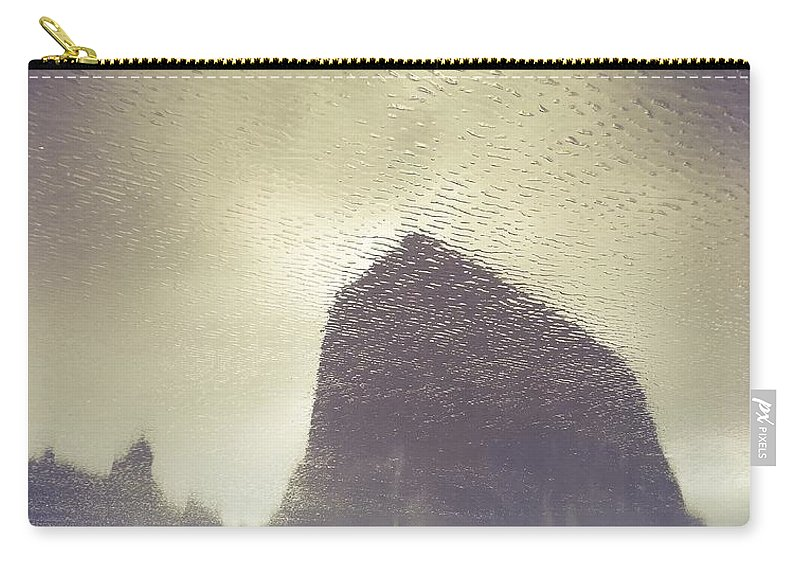 Cannon Beach Carry-all Pouch featuring the photograph The Upside Down by Ryan Darling