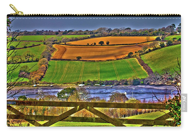 Flushing Carry-all Pouch featuring the photograph The View by Brian Roscorla