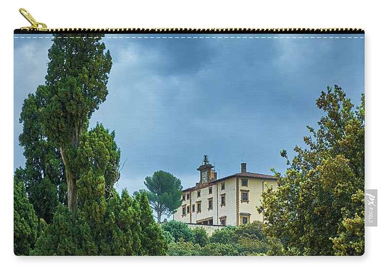 Florence Carry-all Pouch featuring the photograph The Views From The Boboli Gardens by Eduardo Jose Accorinti