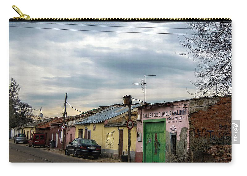 Village Carry-all Pouch featuring the photograph The Village by Alicia Fdez