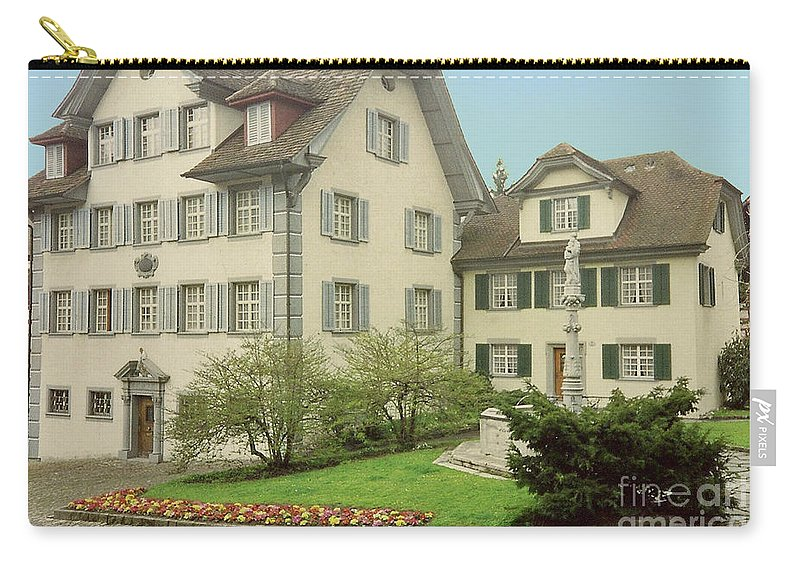 Switzerland Carry-all Pouch featuring the photograph The Village by Jost Houk