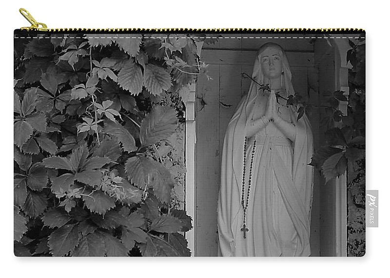 Carry-all Pouch featuring the photograph The Virgin by John Bichler