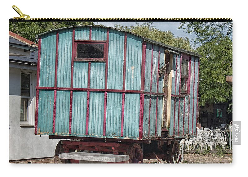 Caravan Carry-all Pouch featuring the photograph The Wagon by Martin Newman