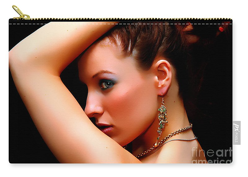 Clay Carry-all Pouch featuring the photograph The Watcher Vii by Clayton Bruster
