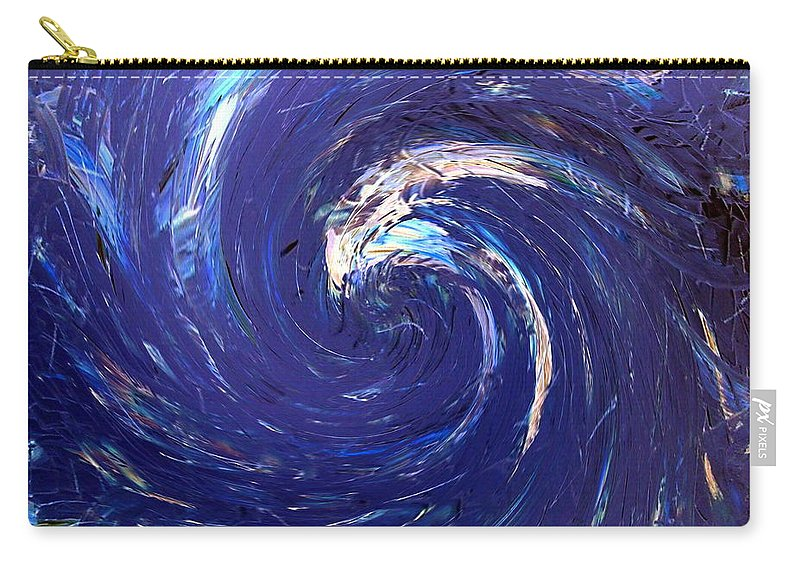 Wave Carry-all Pouch featuring the painting The Wave by Dawn Hough Sebaugh