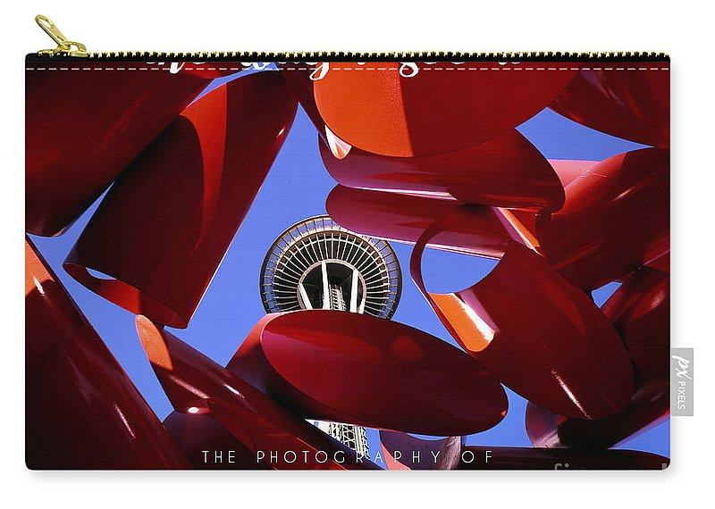Book Carry-all Pouch featuring the photograph The Way I See It Coffee Table Book Cover by Mike Nellums