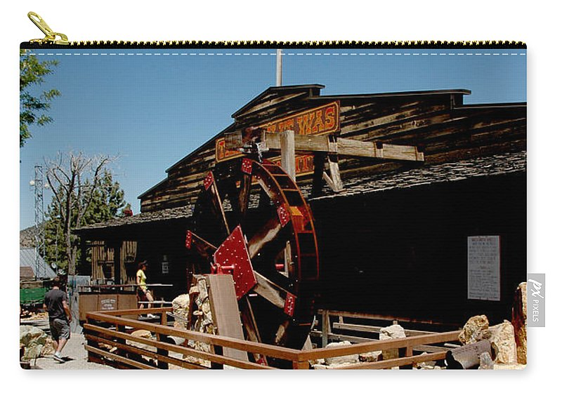 Usa Carry-all Pouch featuring the photograph The Way It Was Virginia City Nv by LeeAnn McLaneGoetz McLaneGoetzStudioLLCcom