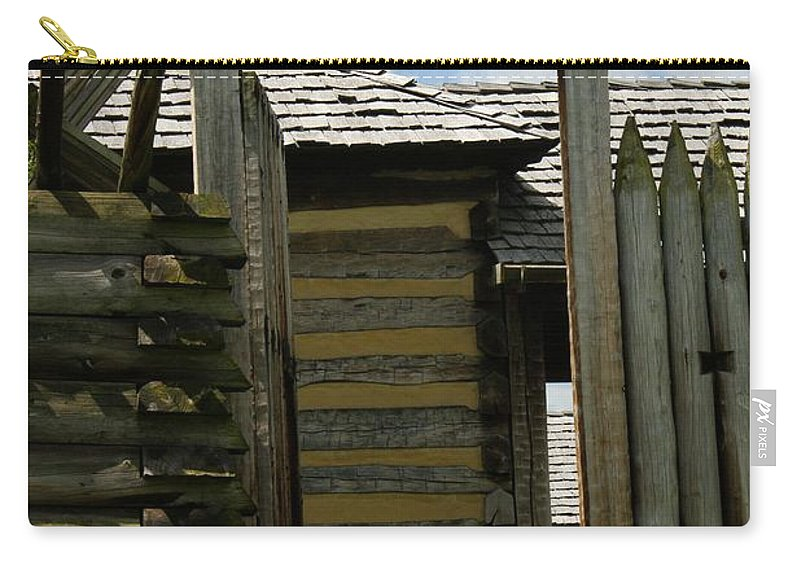 Forts Carry-all Pouch featuring the photograph The Way Out by Judy Carr