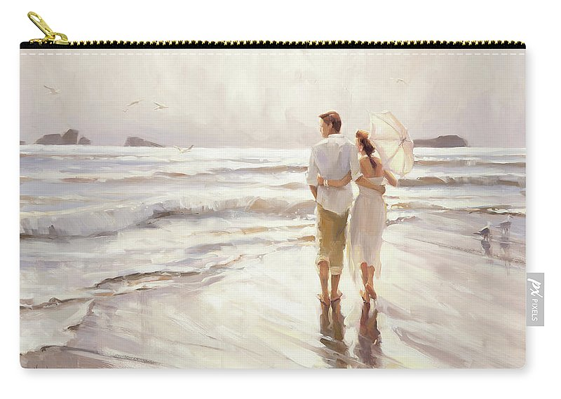 Love Carry-all Pouch featuring the painting The Way That It Should Be by Steve Henderson