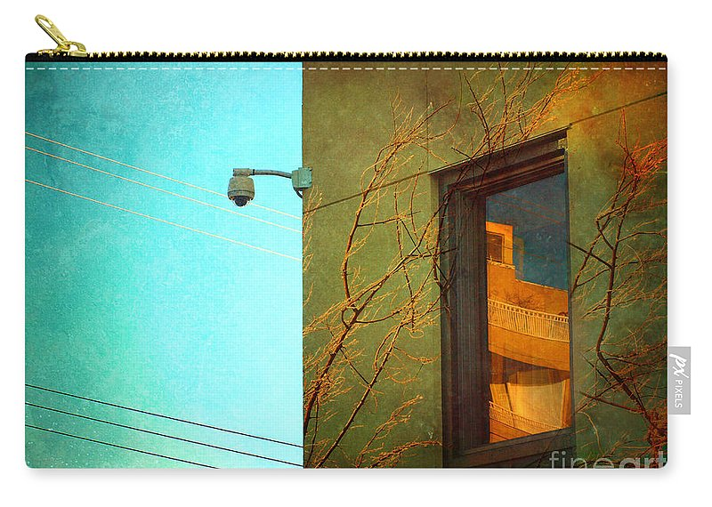 Window Carry-all Pouch featuring the photograph The Way Things Are by Tara Turner