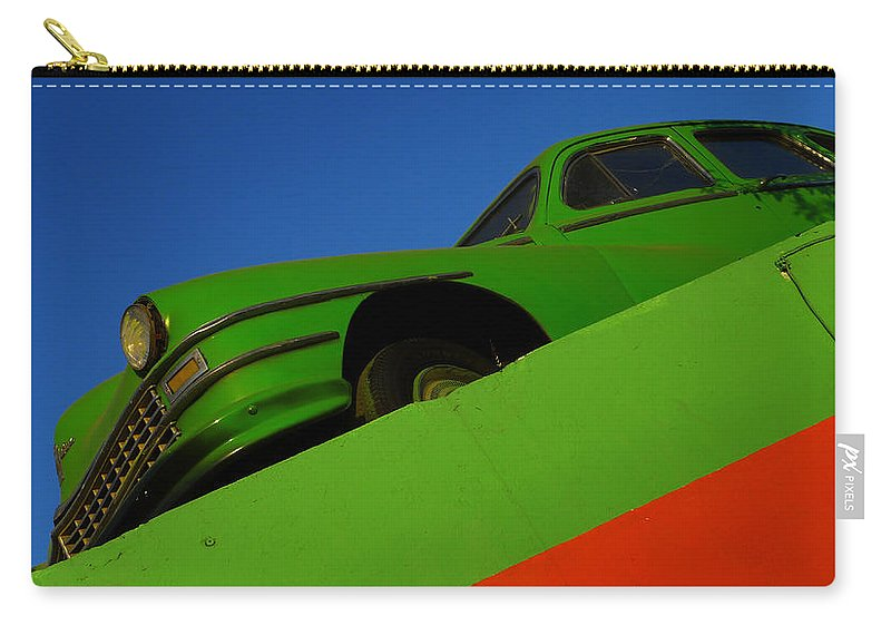 Skip Hunt Carry-all Pouch featuring the photograph The Way We Roll by Skip Hunt