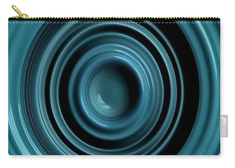 fractal Art graphic Design graphic Art Abstract women's Fashion Fashion Carry-all Pouch featuring the photograph The Well by Bill Owen