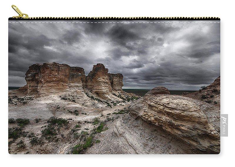 Desert Carry-all Pouch featuring the photograph The West by Garett Gabriel