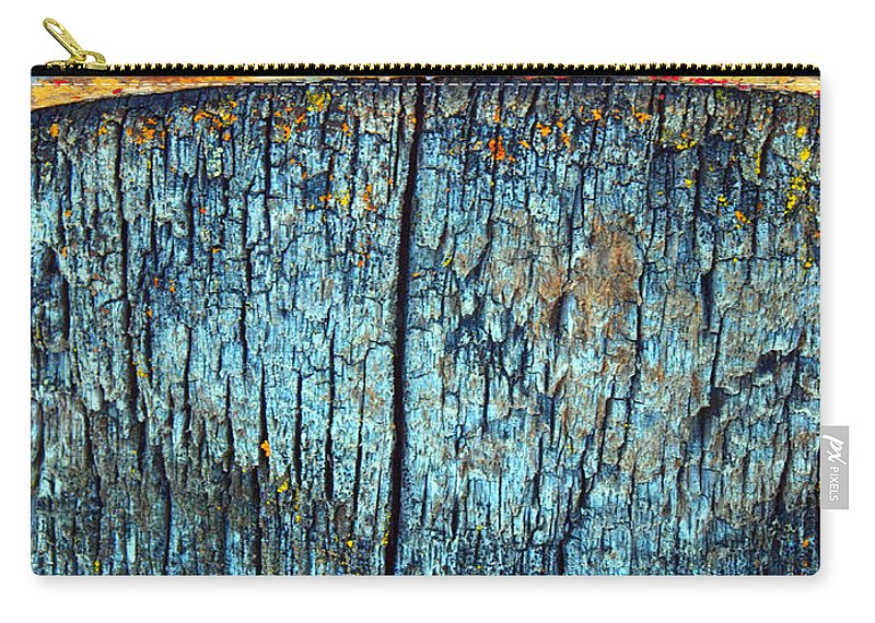Texture Carry-all Pouch featuring the photograph The Wheelbarrow by Tara Turner