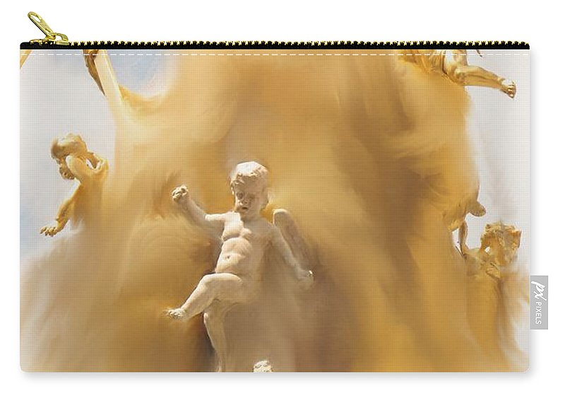 Religion Carry-all Pouch featuring the digital art The Whirlwind by Ian MacDonald