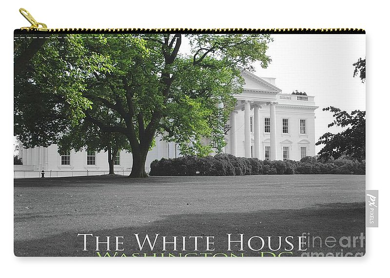 White House Carry-all Pouch featuring the photograph The White House by Jost Houk