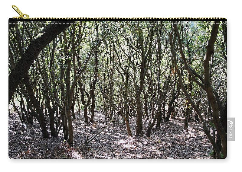 Labastide Esparbairenque Carry-all Pouch featuring the photograph The Wilds by Margaret Fronimos