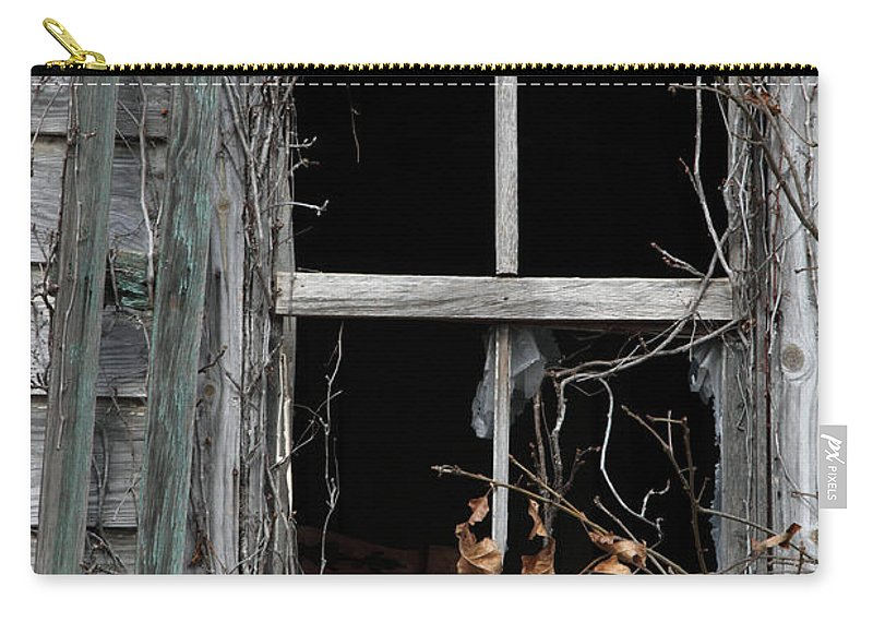 Windows Carry-all Pouch featuring the photograph The Window by Amanda Barcon