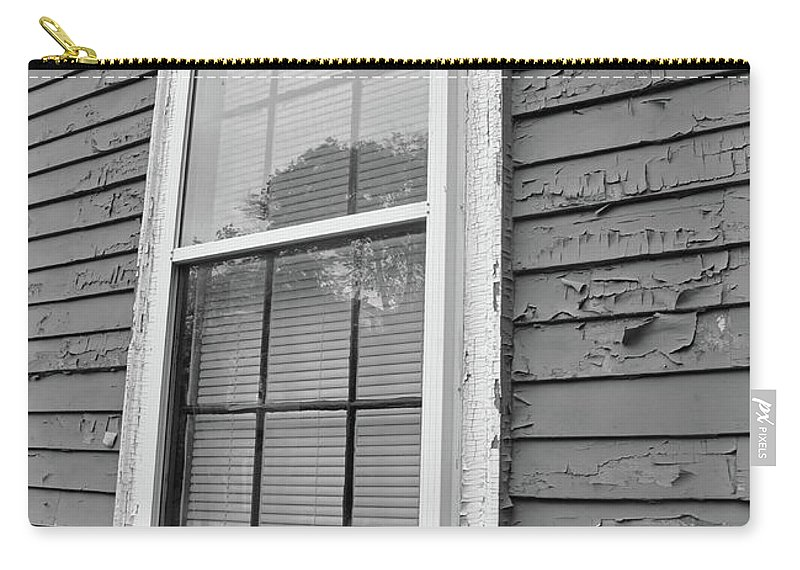 Leaves Carry-all Pouch featuring the photograph The Window by Brittany Horton