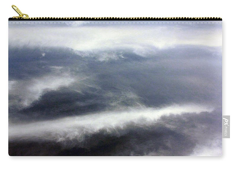Cloud Carry-all Pouch featuring the photograph The Wings by Munir Alawi