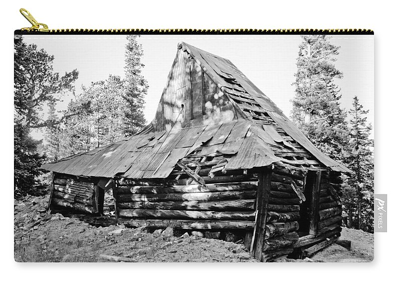 Rustic Carry-all Pouch featuring the photograph The Witch Hat by James BO Insogna