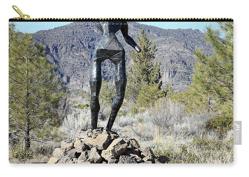 War Memorial Carry-all Pouch featuring the photograph The Wounded Warrior by Carol Groenen