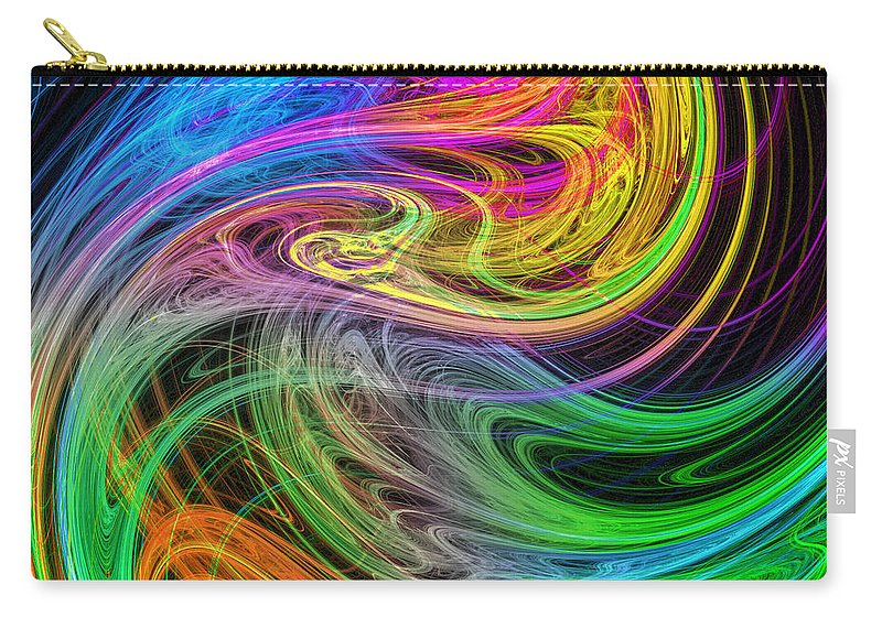 Ying Yang Carry-all Pouch featuring the photograph The Yan Of Ying by Mark Blauhoefer