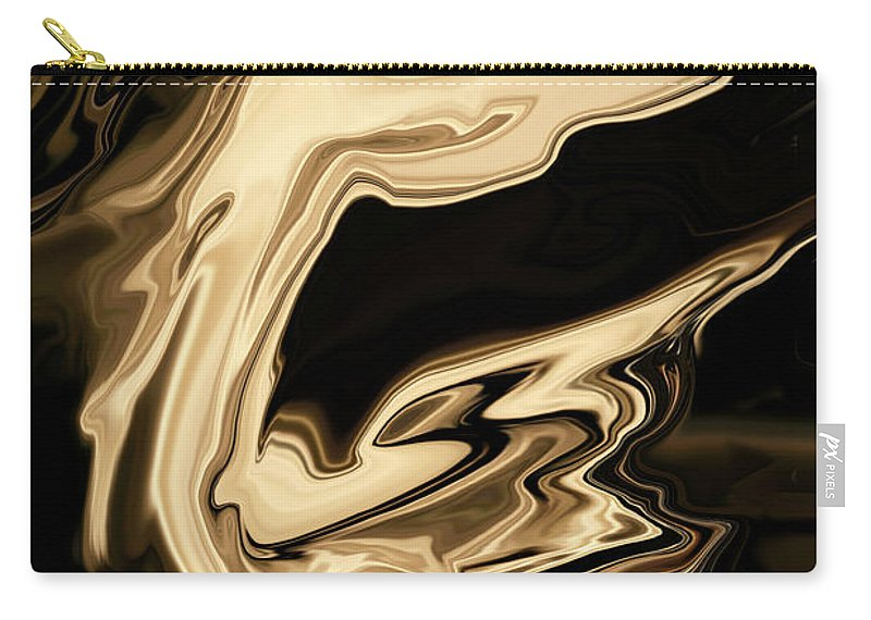 Art Carry-all Pouch featuring the digital art The Young Pegasus by Rabi Khan