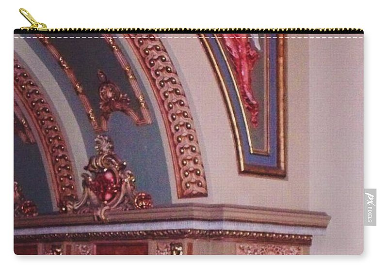 Theater Carry-all Pouch featuring the photograph Theater by Eric Schiabor