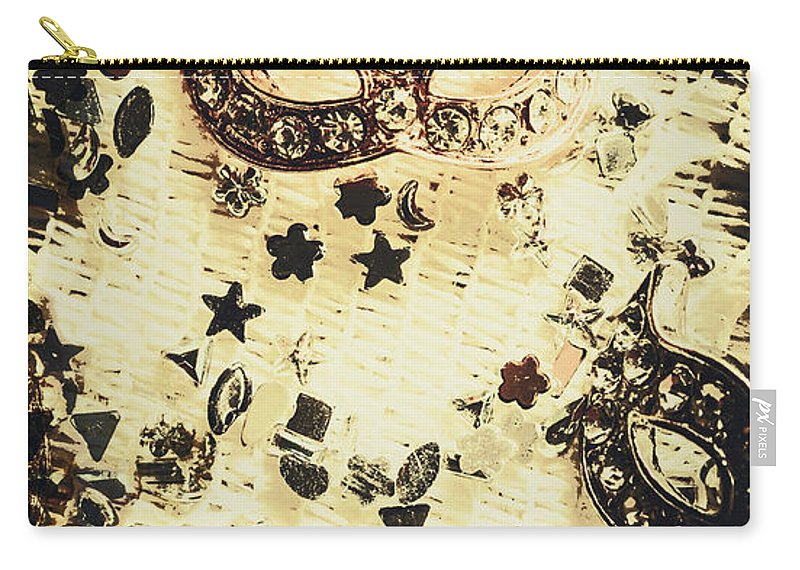 Theater Carry-all Pouch featuring the photograph Theater Fun Art by Jorgo Photography - Wall Art Gallery