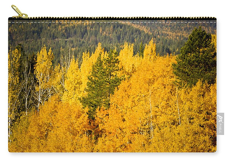 Aspen Carry-all Pouch featuring the photograph Them Thar Hills by Albert Seger