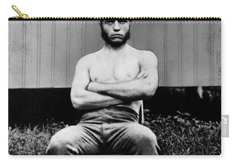 1880 Carry-all Pouch featuring the photograph Theodore Roosevelt by Granger