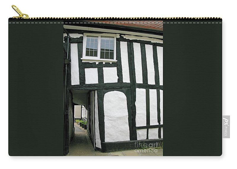 England Carry-all Pouch featuring the photograph There Was A Crooked Man by Ann Horn