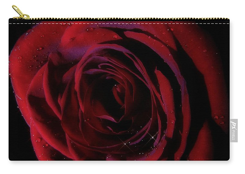 Rose Carry-all Pouch featuring the photograph Thirty Six 3 by September Stone