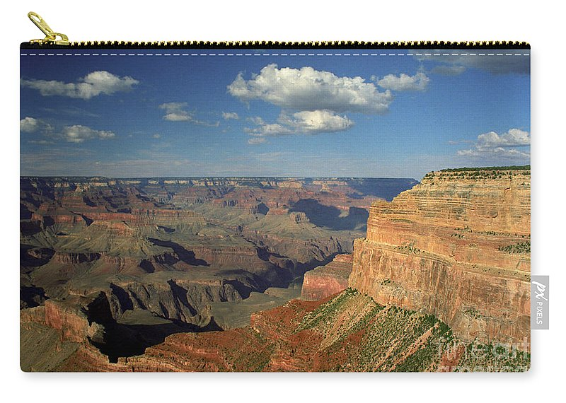 Grand Canyon Carry-all Pouch featuring the photograph This Is My Father's World by Kathy McClure